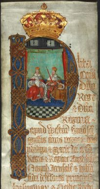 Mary and Philip Coram Rege TNA KB 27.1172