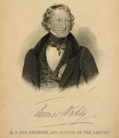 Thomas Wakley 1835 crop