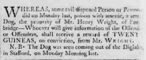 The Staffordshire Advertiser, 26 December 1807, 4