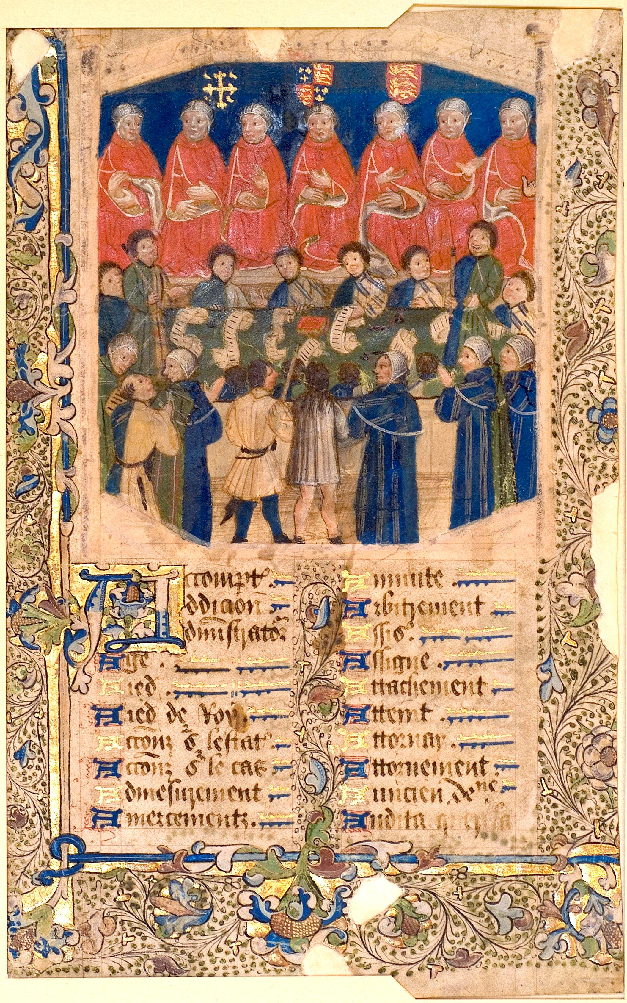 The Etablissements de Saint Louis Thirteenth-Century Law Texts from Tours and Paris Orleans